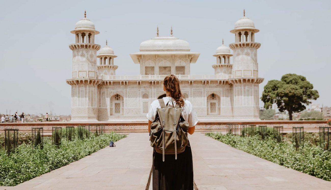 Itimad-ud-Daula-Mausoleum in Indien