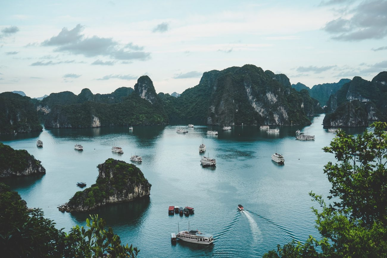 Halong Bucht Vietnam