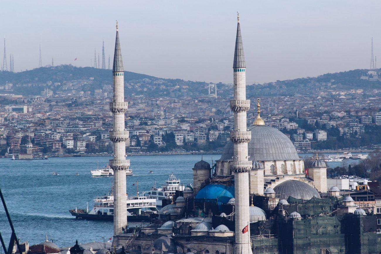 Bekanntes Stadtbild von Istanbul
